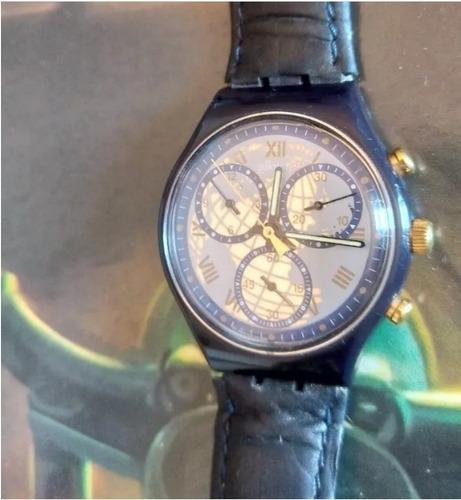 Relógio Swatch Cronógrafo Anos 90 Raro! (único No Ml)