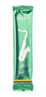 Palheta Java N° 2 Para Sax Tenor Sib Bb Vandoren 2234