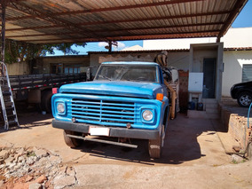 Ford F600 Ano 78 Munck, Motor Mwm, Freio A Ar