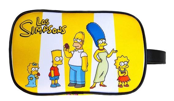 Neceser Organizador Cosmeticos Los Simpsons