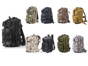 3x Mochila Tática Militar Assault 30l Camping