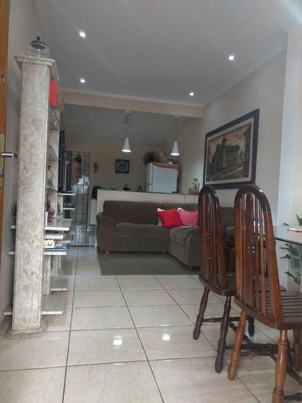 Sobrado Em Conjunto Residencial Humaitá, São Vicente/sp De 130m² 4 Quartos À Venda Por R$ 350.000,00 - So361465