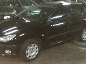 Peugeot 206 Sw 1.6 Premium 2007 Negra Km Reales Familiar