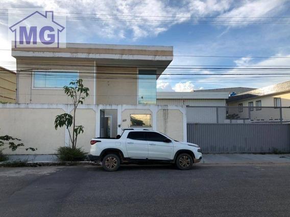 Galpão Para Alugar, 700 M² Por R$ 20.000,00/mês - Granja Dos Cavaleiros - Macaé/rj - Ga0045