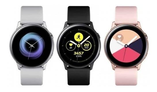 Samsung Watch Active Prata, Preto Ou Rosé. Lacrados E Nf