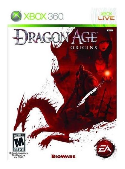 Dragon Age: Origins - Xbox 360 / Mídia Física / Lacrado
