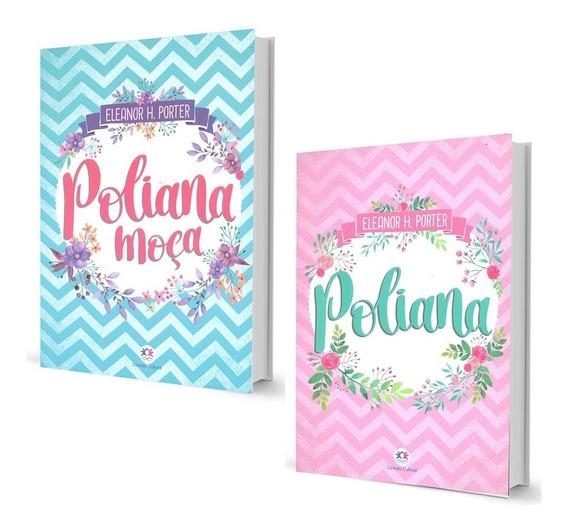 Poliana Moça Eleanor H. Porter 2 Volumes Romance Juvenil