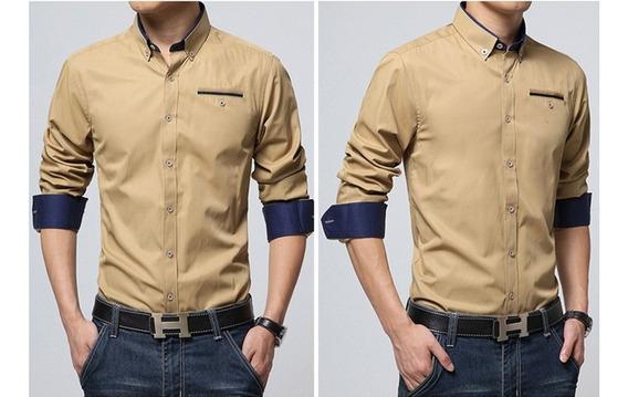 Camisas Sociais Slim Lançamento 2015 Elegance Original