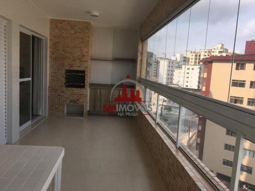 3 Dormitórios  Sendo 3 Suítes Na Guilhermina - Ap02577 - 69217185