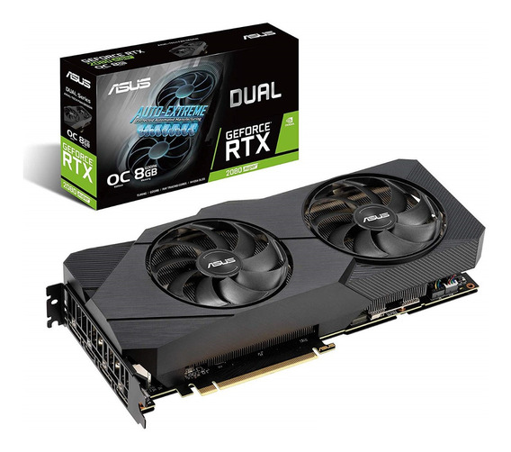 Placa Video Asus Geforce Rtx 2080 8gb Super Dual Oc 3