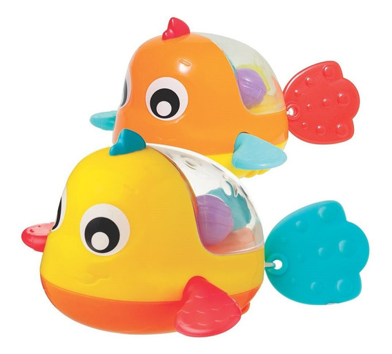 Juguete De Baño Playgro Padding Bath Fish
