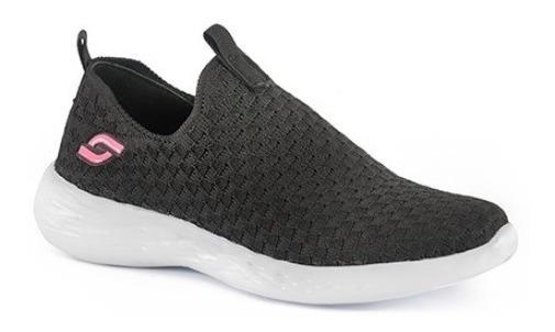 Zapatillas Mujer Urbanas Soft 5500 Elásticos Ultra Livianas