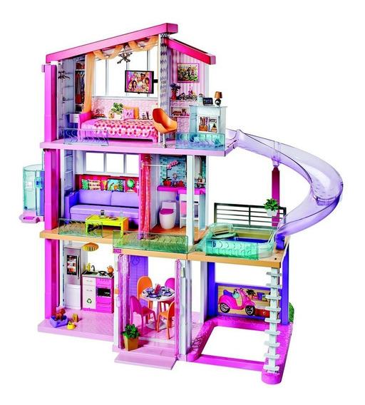 Casa Dos Sonhos Da Barbie Com Acessórios - 75 Cm - Mattel