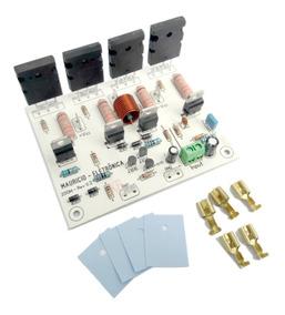 Placa Para Caixa Ativa,amplificador 200w Rms,2sa1943/2sc5200