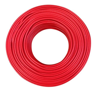 Cable Thw-ls #10 Rojo