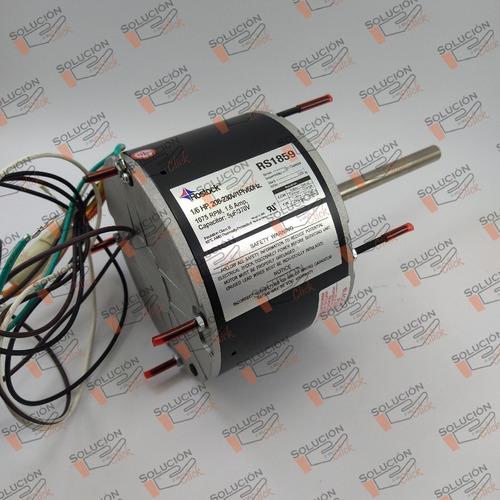 Motor Ventilador Rostock 1/6 Hp Para A/a