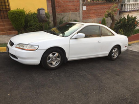 Honda Accord Exr 2000 Blanco 2 Puertas