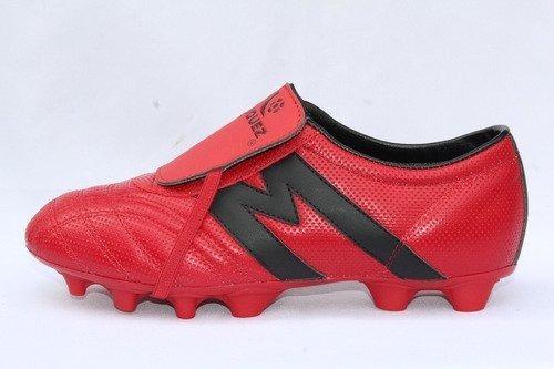 2264-zapato Fútbol Manriquez Profesional Mid Sx Rojo/ngo