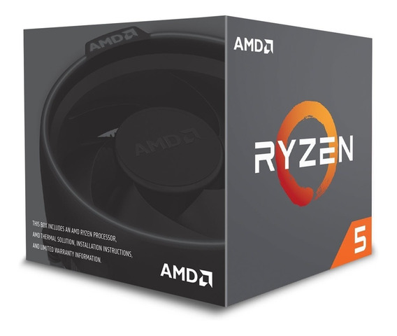 Procesador Ryzen 5 2600 Am4 6-core 4.2 Max Ghz Turbo