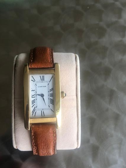 Relógio Cartier Tank Ouro-fabricado Na França