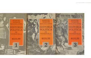 Historia Política De Venezuela. Manuel Vicente Magallanes.8$