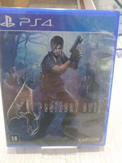 Jogo Playstation 4 Resident Evil 4 Remastered Ps4 Midia Física Novo Lacrado