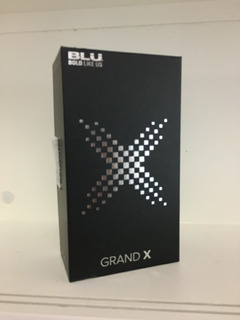 Celular Blu Grand X G090eq 8gb 1gb Ram 5pol Tela Trincada