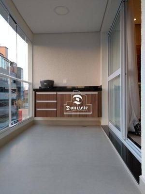 Apartamento Com 3 Dormitórios À Venda, 90 M² Por R$ 680.000 - Jardim Bela Vista - Santo André/sp - Ap11160