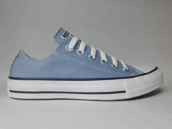 Tênis Converse All Star Azul Aço Ref:ct04200030