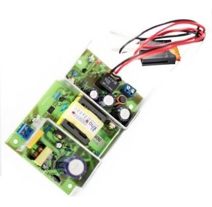 Fonte 5 Amperes 13,8v C/carregador De Bateria Onix