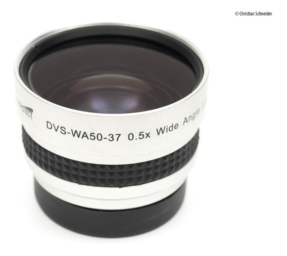 Lente Grande Angular Universal Adaptadora 37mm Dvs-wa50-37