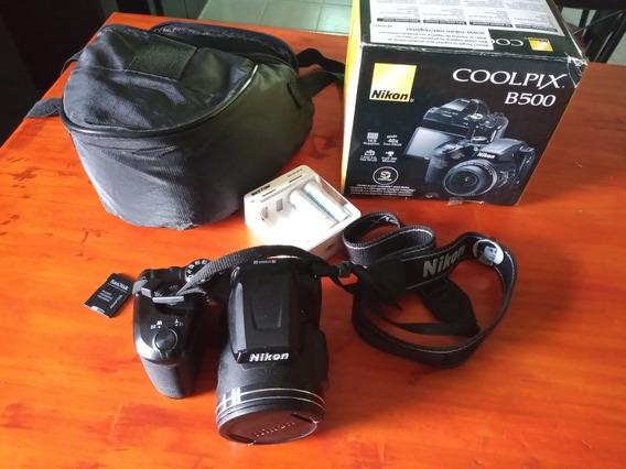 Cámara Nikon Digital Zoom X40 Coolpix B500 Hd