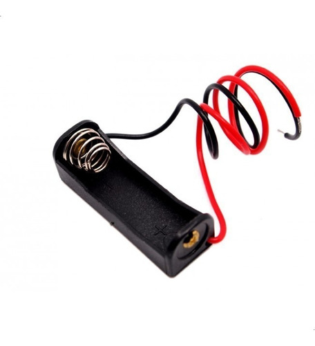 Imagen 1 de 6 de Porta Bateria Pilas 12 V 23a A23 Con Cable
