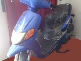 Motocicleta Suzuki An100t Azul