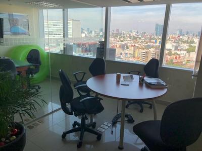 Oficina En Renta En Torre Wtc De 86 M2 Nivel 16