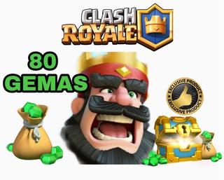 80 Gemas Clash Royale Entrega Inmediata