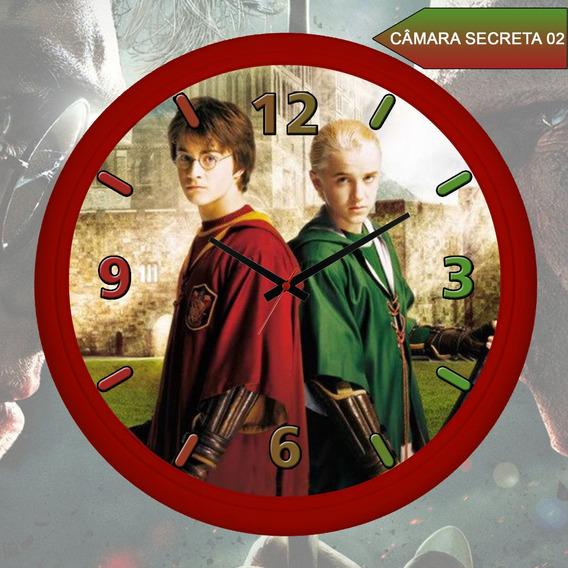 Relógio De Parede Harry Potter E A Camara Secreta