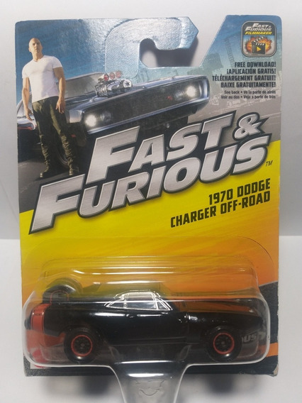 Fast & Furious Dodge Charger Off Road 1970 1/32, Escala 1/55