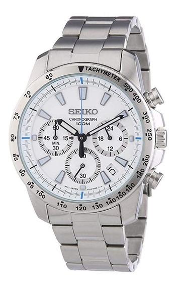 Relógio Seiko Masculino Importado Japão Chronograph Ssb025pc