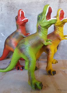 Dino Super Gigante T-rex 70 Cm X 60 Cm .