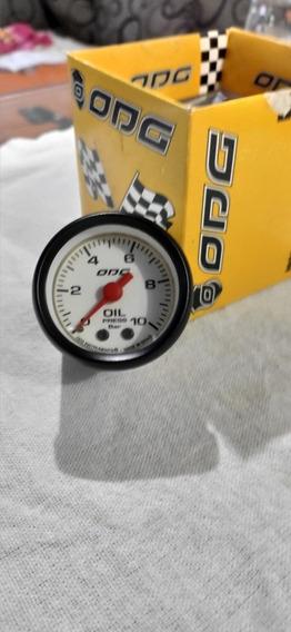Manômetro Pressão De Óleo 10 Bar Odg Mustang