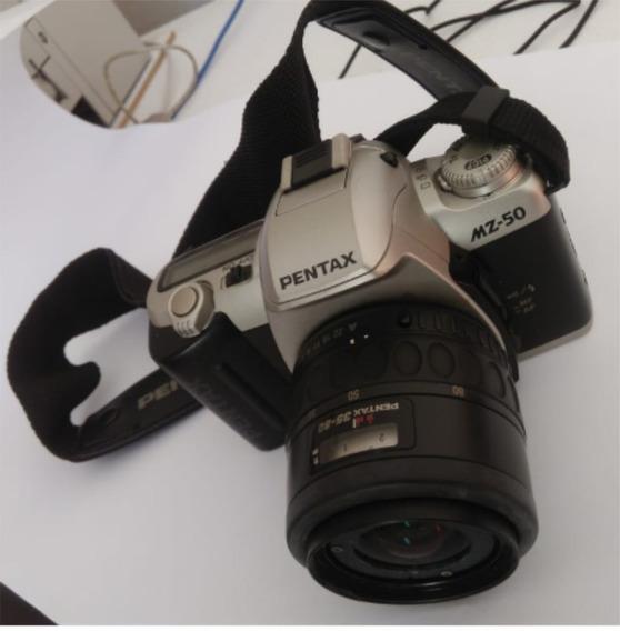 Máquina Fotográfica Analógica Pentax Mz50 Em Ótimo Estado
