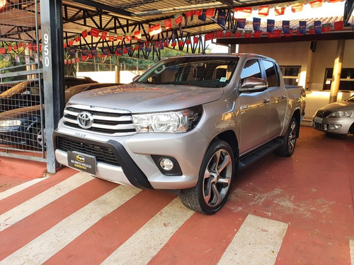 Toyota Hilux 2017 2.7 Srv Cab. Dupla 4x4 Flex Aut. 4p
