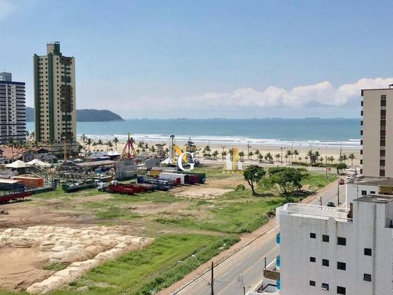 Apartamento Com 2 Dormitórios, Varanda Gourmet, Com Vista Mar! - Aviação - Praia Grande/sp - Ap1921