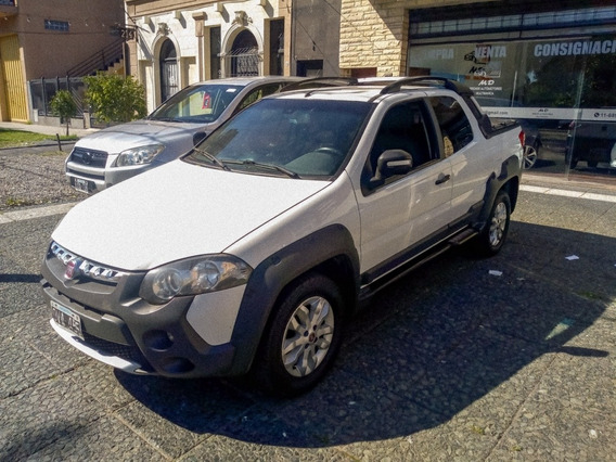 Fiat Strada 1.6 Adventure Locker Con Gnc