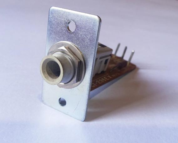 Conector P10 Fêmea Fones Receiver Gradiente Ds-40 / R-343