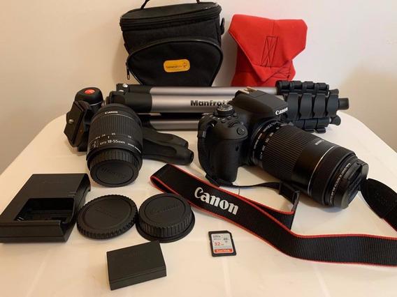 Camera Canon T6i - 4.183 Cliques.