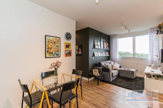 Apartamento Com 3 Dormitórios À Venda, 68 M² Por R$ 349.800,00 - Cavalhada - Porto Alegre/rs - Ap0036