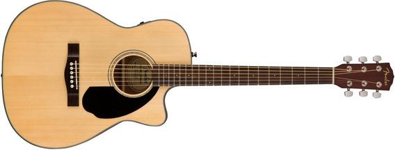 Fender Cc60sce Guitarra Electro Acustica Concierto Fishman