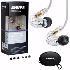 Fone Shure Se 215 Monitor Palco Made In States